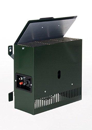 Stand- bzw. Wandgasheizung von Gazcamp für Gewächshaus mit 2 KW mit Thermostat
