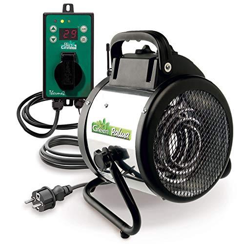 2000 Watt Elektrogebläseheizung Palme von Bio Green beispielsweise für das Gewächshaus