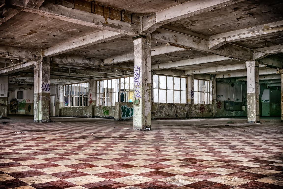 Große Fabrikhalle