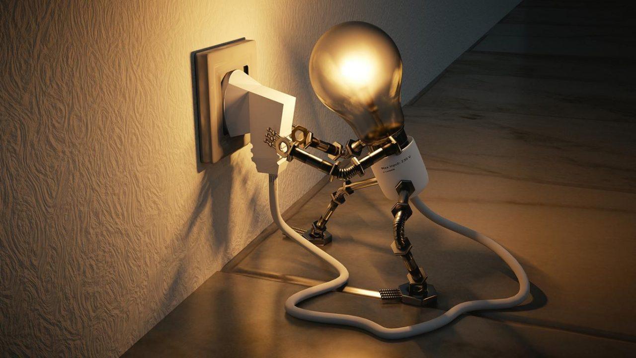 Stromsparlampe