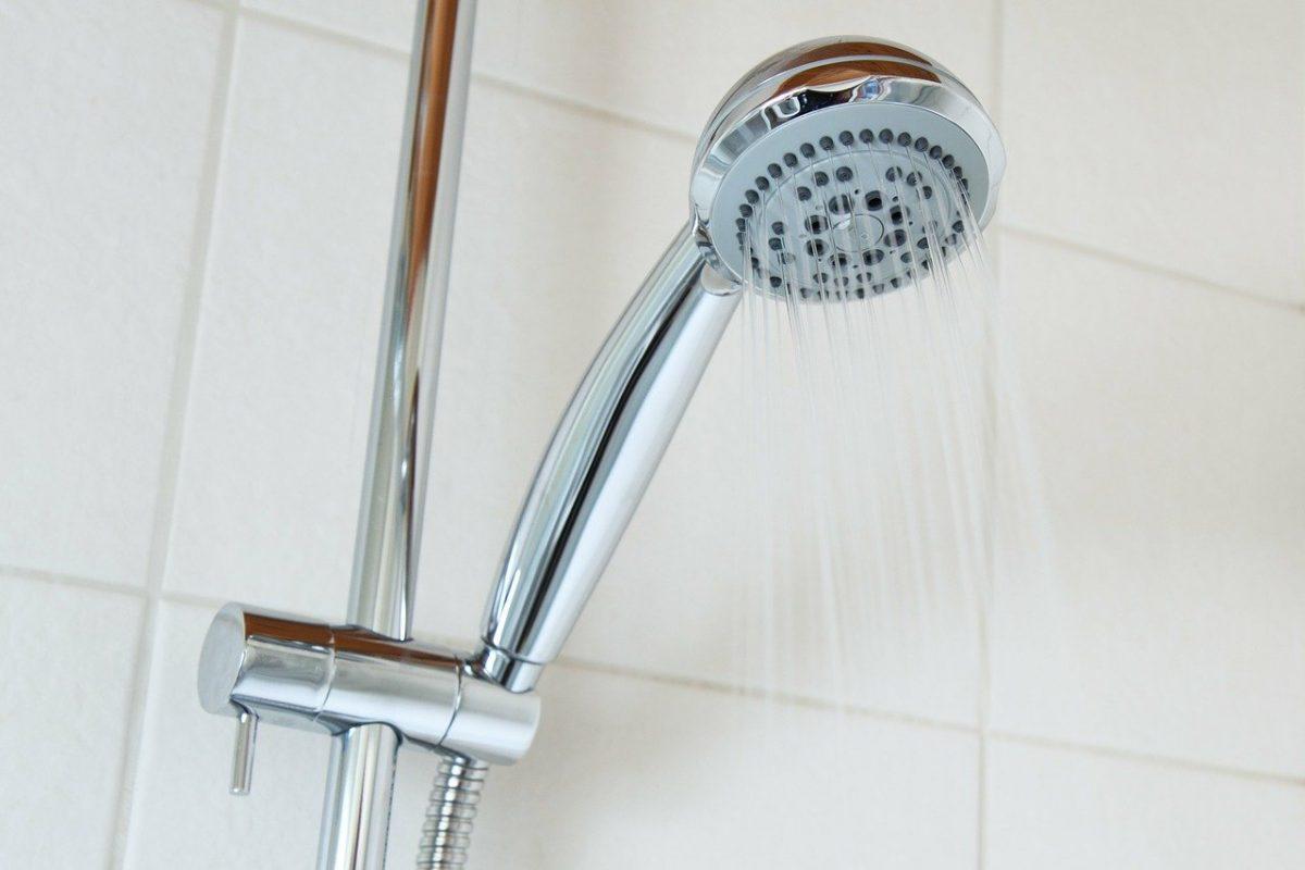Bad Dusche Duschkopf Brausekopf Duschen Warmes Wasser Wasserverbrauch