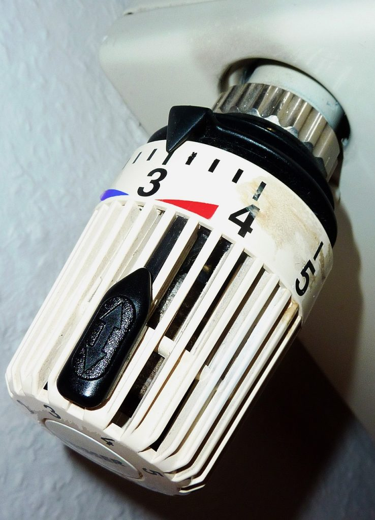Thermostat für effizientes Heizen